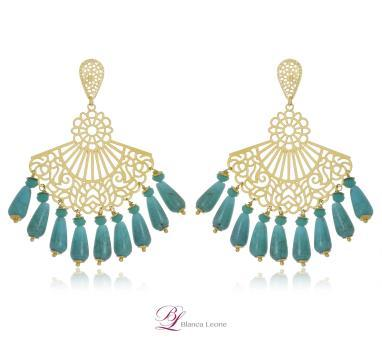 Blanca Leone Earrings