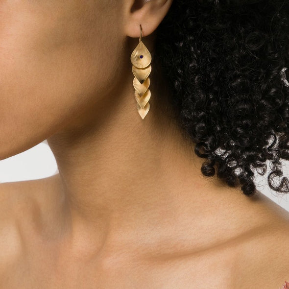 Pan Earrings Gold