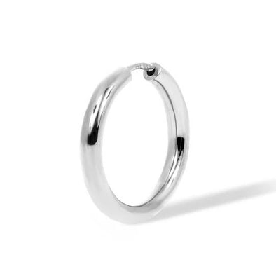 Simple 15Mm Mini Hoop 925 Strl Slvr 1,4 Gr Wh Rh