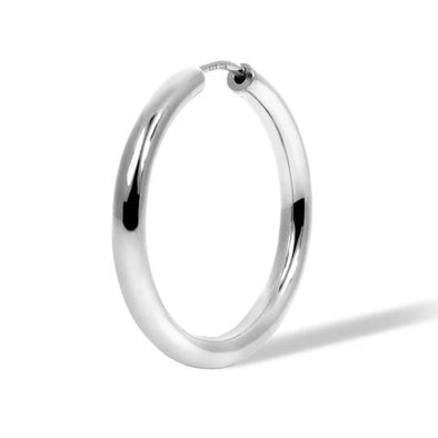 Simple 20Mm Mini Hoop 925 Strl Slvr 1,7 Gr Wh Rh