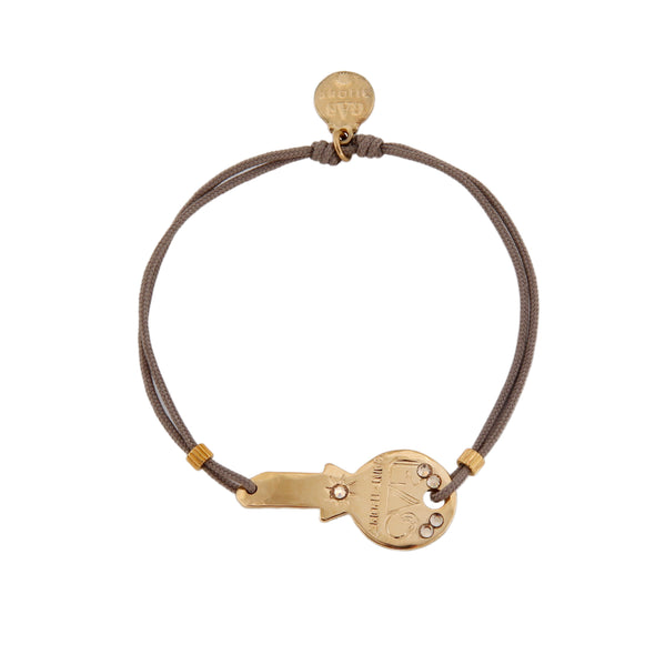 Mini Key Bracelet Gold