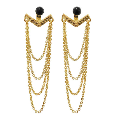 Studio Earrings Gold Plating