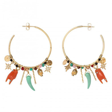 Superstition Earrings Gold