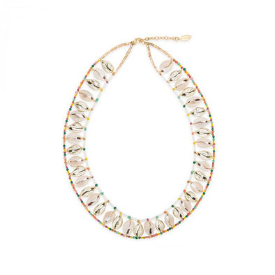 Necklace Alva Shell White 38.5cm