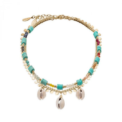 Anklet Lexie Shell Multi