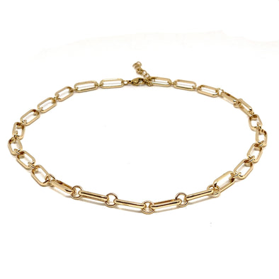 Anabel Chain Necklace Gold Plated 39cm