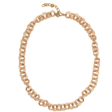 Amy Chain Necklace Gold Plated 39cm