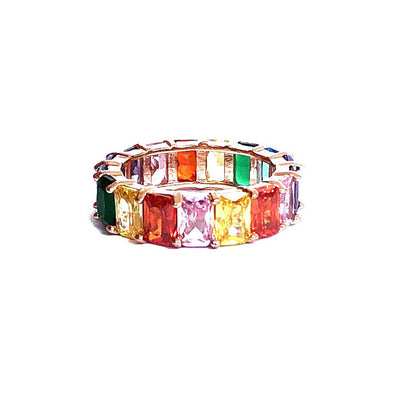 Artemis Ring Rainbow Gold