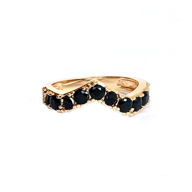 Calypso Ring Black Diamond