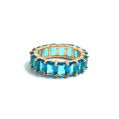 Artemis Ring Aqua Blue