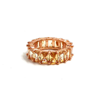 Artemis Ring Champagne Rose Gold