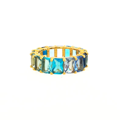 Artemis Ring Gradient Blue