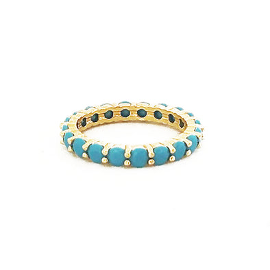 Gaia Ring Turquoise/ Gold