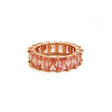 Artemis Ring Tourmaline Rose Gold