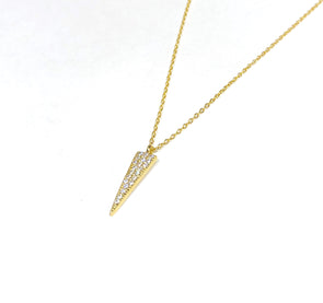 Cone Necklace 18K Gold Plated