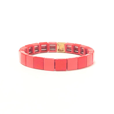 Lovely Color Block Elastic Bracelet