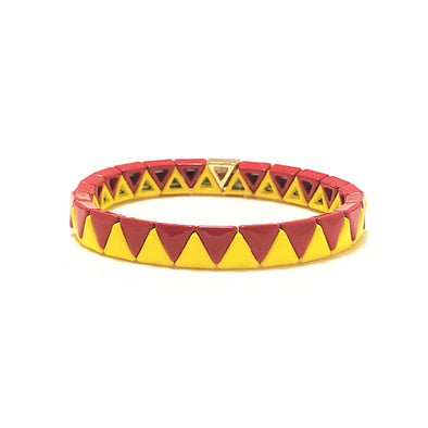 Spicy Triangle Elastic Bracelet