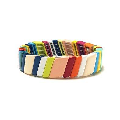 Savana Color Block Elastic Bracelet