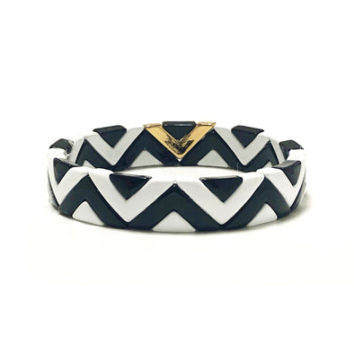 Afrika Color Block Elastic Bracelet