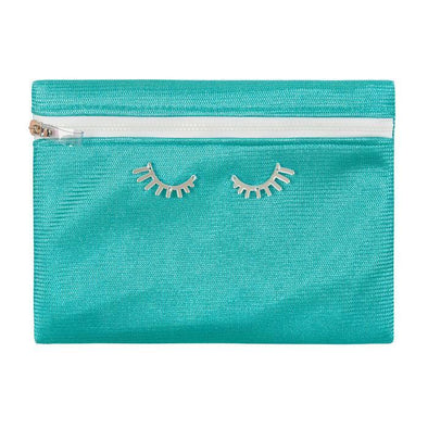 Pouch Violet Waterpoof Aqua Zig Zag/ Lashes