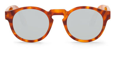 Foldable JORDAAN HC Leo Tortoise With Silver Lenses