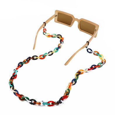 Links Sunglasses Chain Multi Tortoise