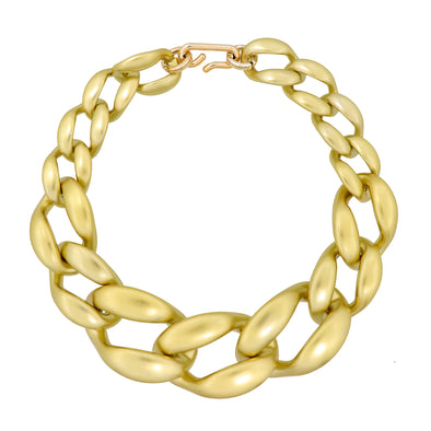Link Chain Xxl Necklace Gold 50Cm
