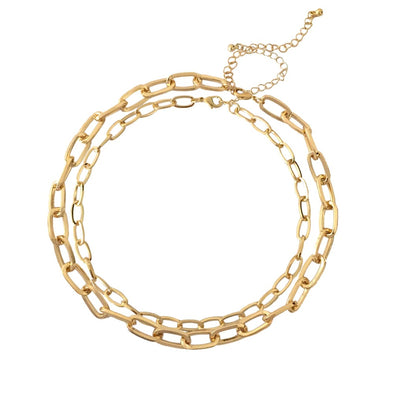 Blake Double Chain Necklace
