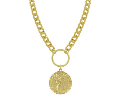 Florence Necklace With Medallion