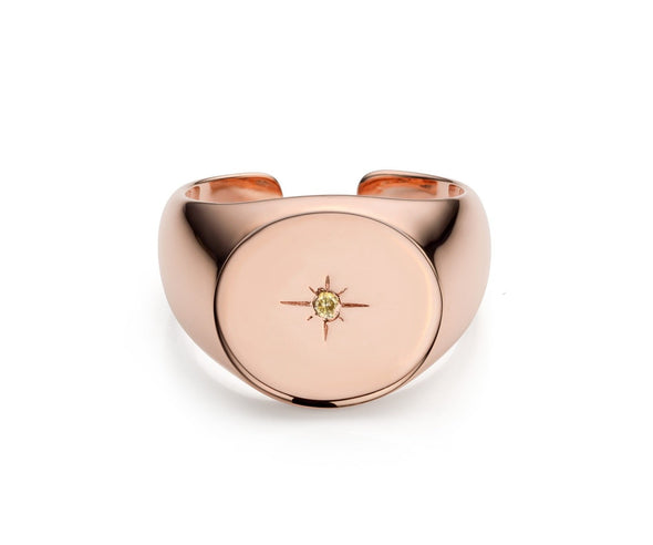Starry Signet Ring
