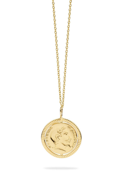 Napoleon - Big Model Necklace - 52Cm Chain