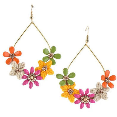 May Flower Earring