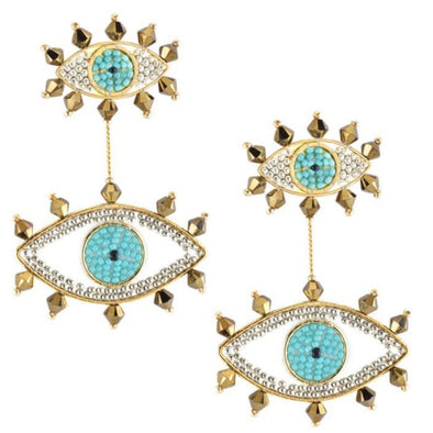 Eye Drops Earrings