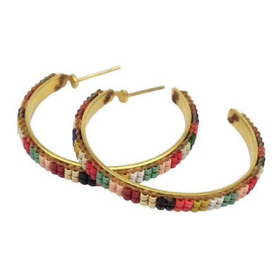 Nikita Hoops Earrings