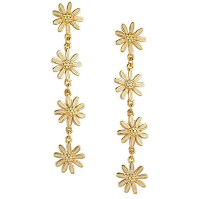 Flowery Drop earrings