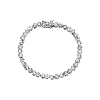 Baroness Bracelet Silver Simulated Diamond