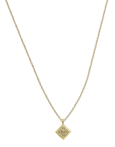 Collier Chaine India Tika Dore 24K