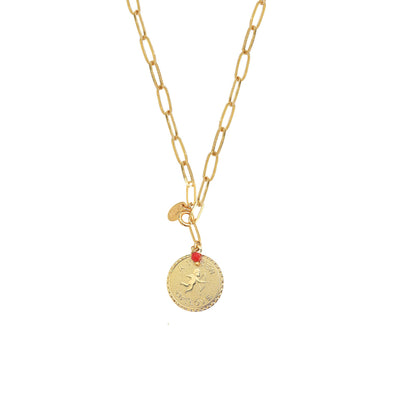 Scarlett long necklace 2 in 1 Token of love
