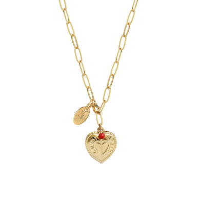 Scarlett Long Necklace 2 in 1 Sweet heart