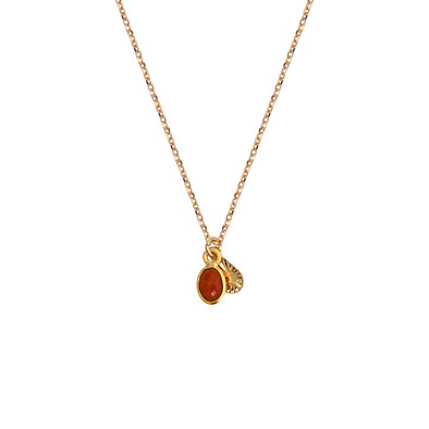 Gaia Necklace Agathe Rouge