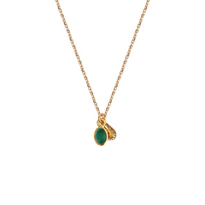 Collier Gaia Quartz Emeraude