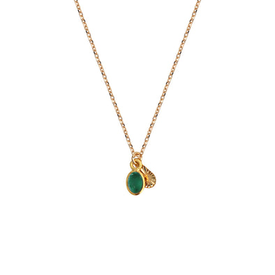 Gaia Necklace Quartz Emeraude