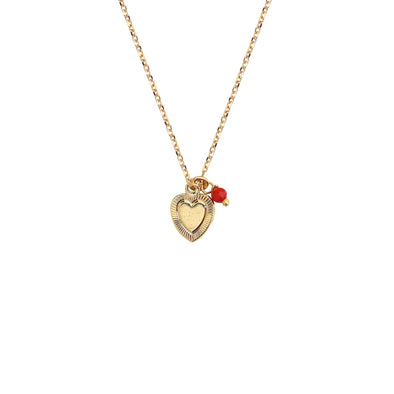 Clea Heart Necklace