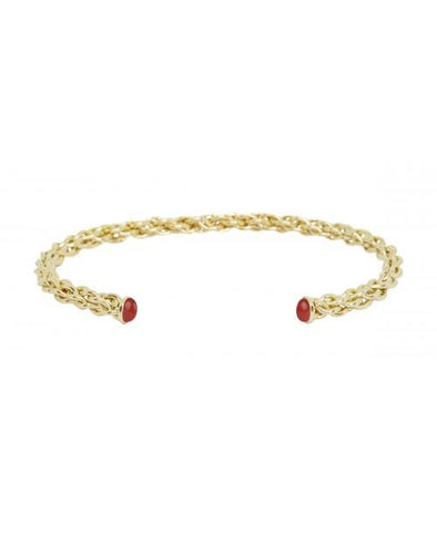 Oreade Bangle Cornaline