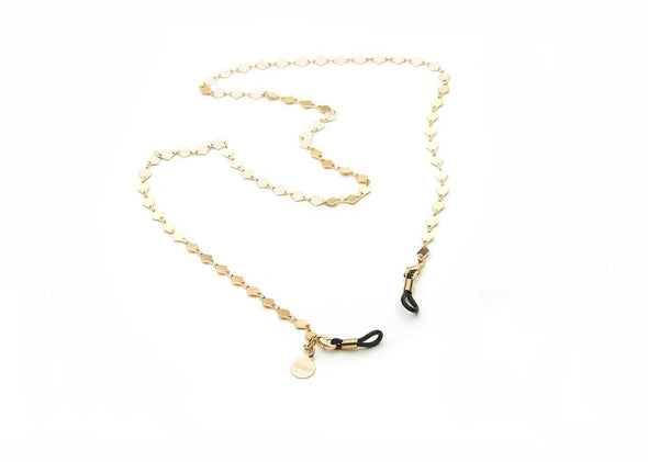 Sunnies Chain Gld/Blk