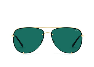 High Key Mini Rimless Gld/Teal