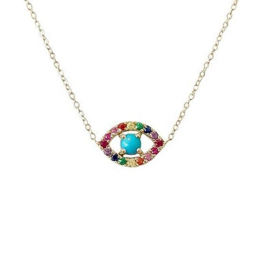 Multi Eye Necklace
