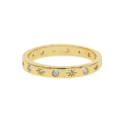Stars And Dots Ring