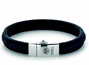 R&R Bracelet - Dual Twisted Black