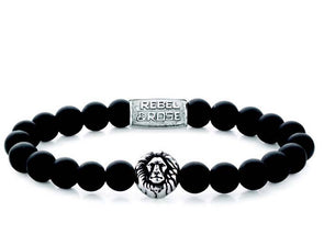 R&R Bracelet - Mad Lion - Silver Colored